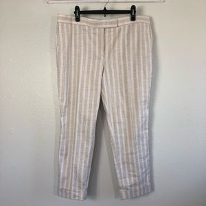 Ann Taylor Devin Tailored Ankle Cuff Pants Size 12